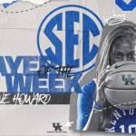 UK WBB Rhyne Howard Named SEC Player of the Week