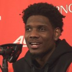 Louisville Basketball Darius Perry Postgame vs Miami Ohio