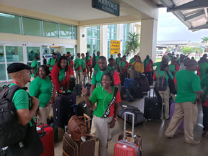 Biggest ever delegation to Carifesta 14 for St. Kitts and Nevis
