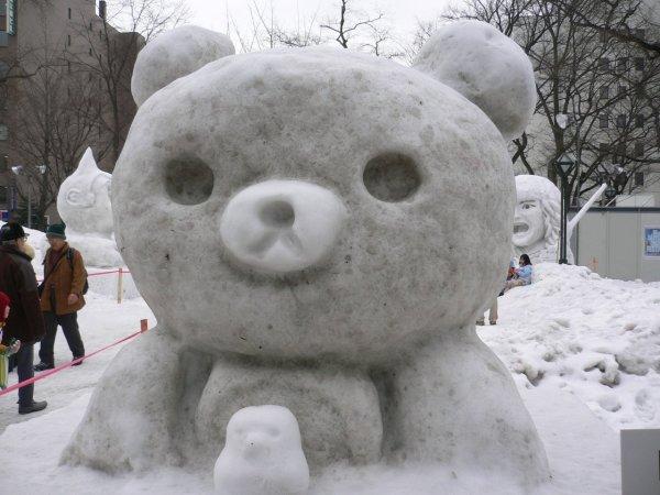 Rilakkuma_Snow_Sculpture_Sapporo_Snow_Festival