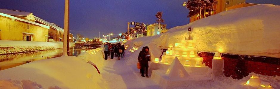 Otaru Snow Light Path Festival 2019