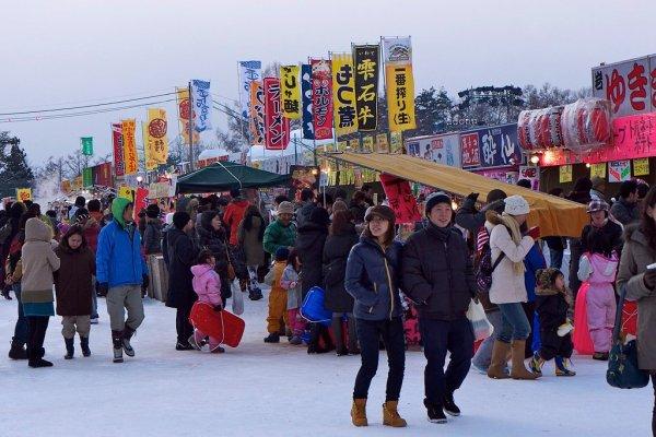 yatai_japanese_food_stalls_iwate_snow_festival