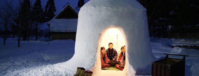 Yokote Kamakura Snow Festival 2021 | Visit Akita