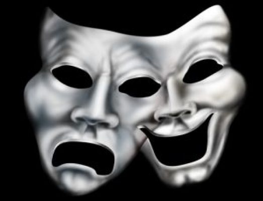 http://www.dreamstime.com/stock-images-merging-theater-masks-image10559944