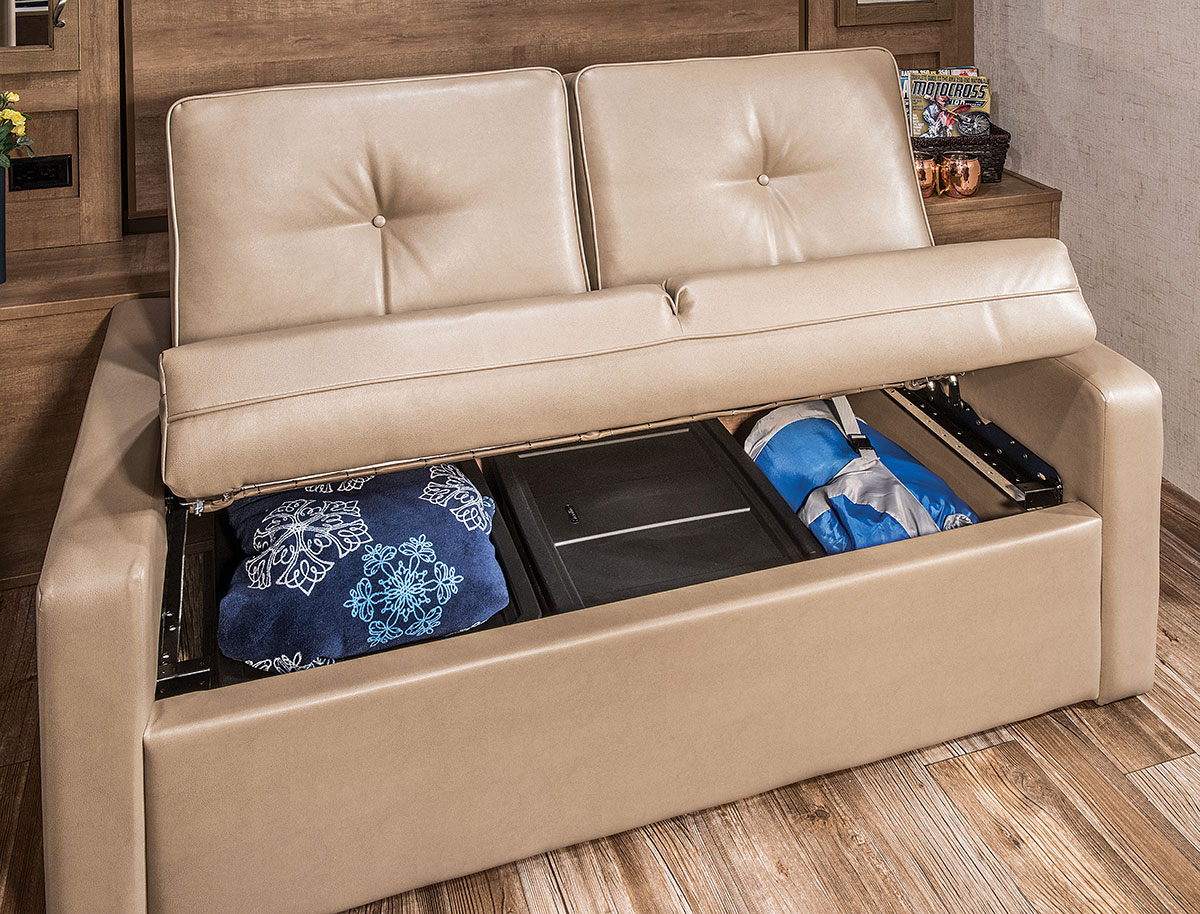 sofa bed for rv jennifer convertible white travel trailer home the honoroak
