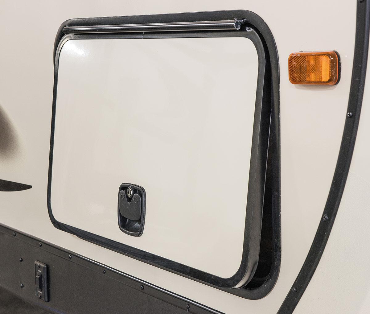 hight resolution of extra large slam latch radius baggage doors