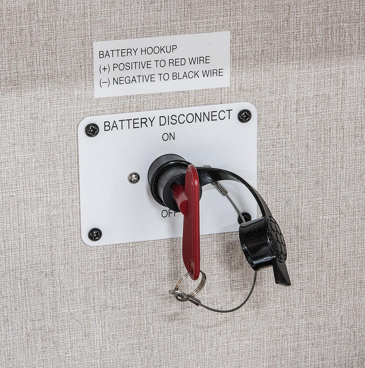 hight resolution of  2018 kz rv durango 1500 d251rlt fifth wheel exterior battery disconnect