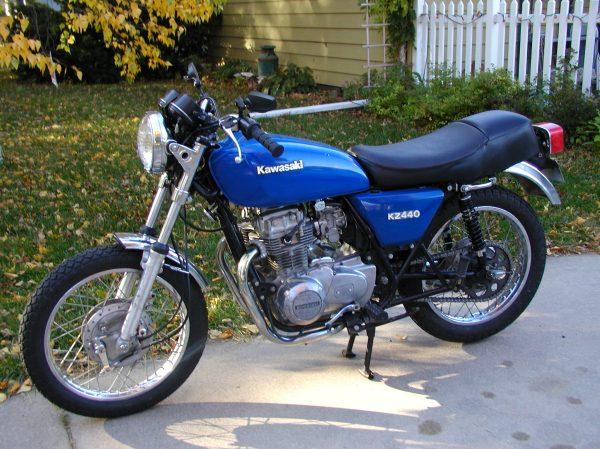 1981 Kawasaki Kz1000 Bobber - Year of Clean Water