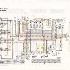 1978 Kz1000 Wiring Diagram Light Sensitive Switch Circuit 1980 Kawasaki Ltd Yamaha Dt 175