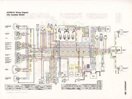 small resolution of 1979 kz400 wiring diagram