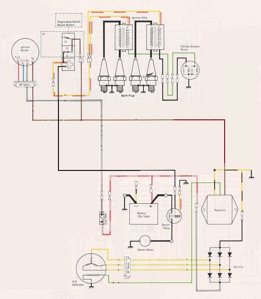 hight resolution of k z 750 kick start wiring diagram wiring libraryk z 750 kick start wiring diagram images gallery