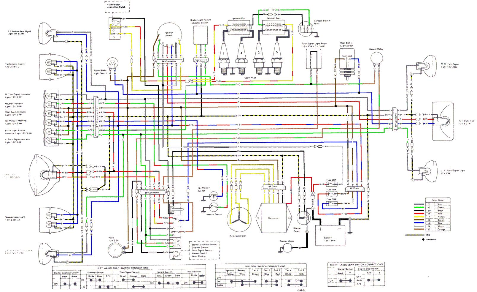 1982 kz1000 ltd wiring diagram wire 4 way switch need diagrams for a 1979 kzrider forum