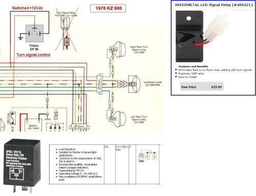 small resolution of motorcycle hazard light wiring diagram