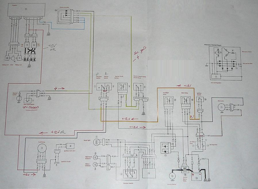 Vn800 Wiring Diagram Kawasaki Vulcan Forum Vulcan Forums