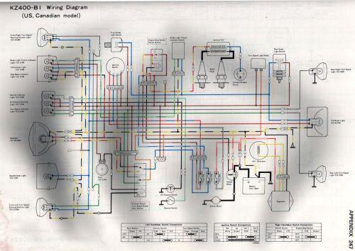 small resolution of k z 400 wiring diagram