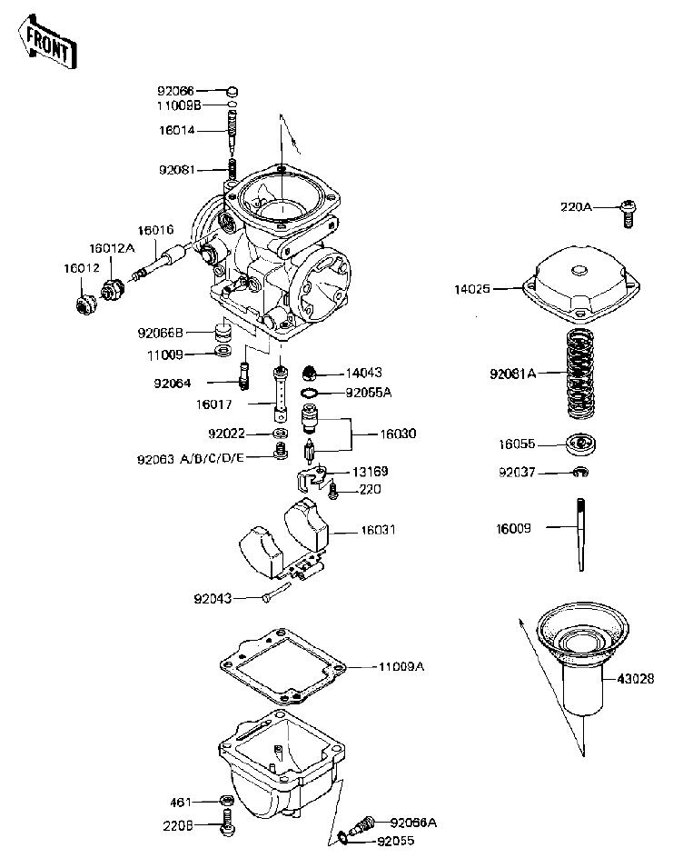 Mikuni Bst 34 Carburetor Diagram, Mikuni, Free Engine