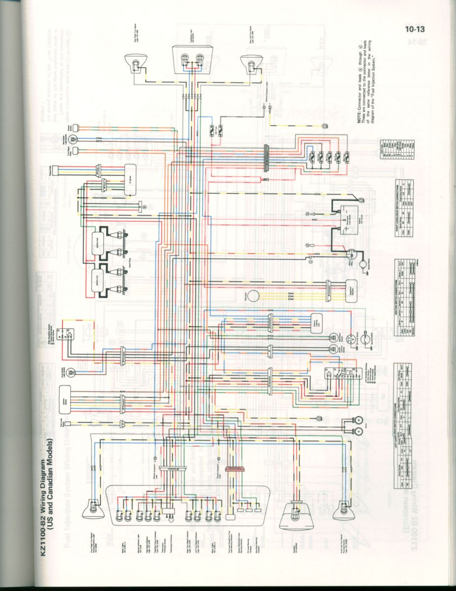 hight resolution of color wiring diagram for 82 kz1100 us cananda kzrider forum wiring gfci outlets in series