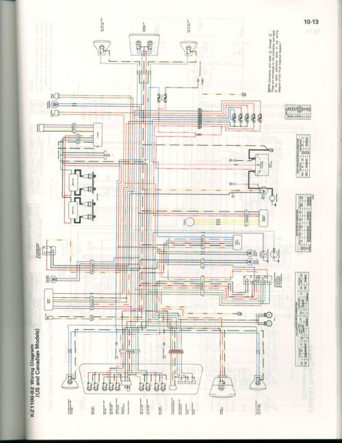 small resolution of color wiring diagram for 82 kz1100 us cananda kzrider forum wiring gfci outlets in series