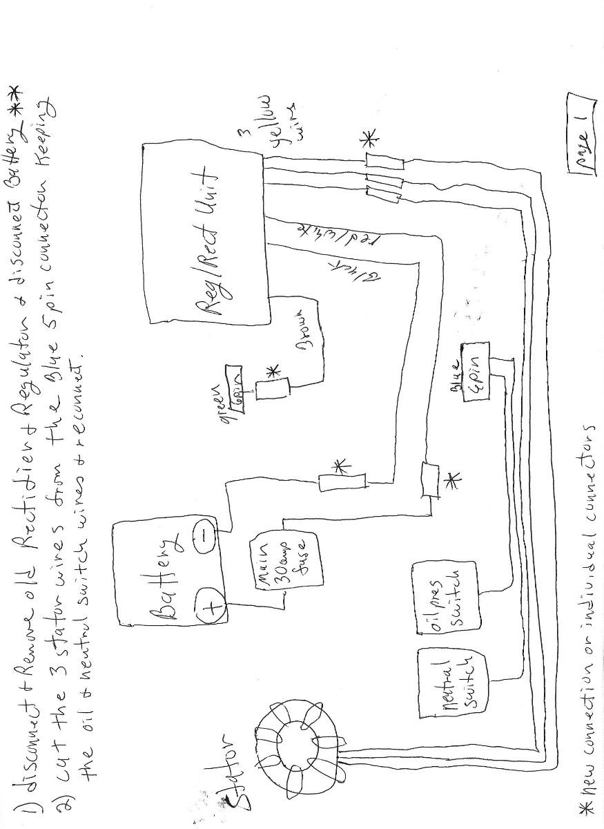 Confused. Regulato/Rectifier combo vs. OEM separate Reg