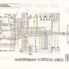 Kawasaki Wiring Diagram Types Of Rainfall With Diagrams Kz750 All Data 1980 Twin 1982