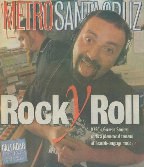 """Metro Santa Cruz - """"Rock Y Roll"""" cover"""