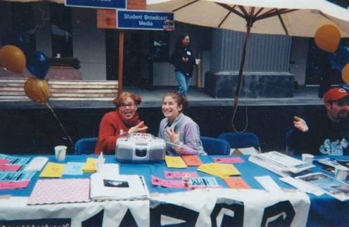 Outreach at the Quarry Plaza circa 2003