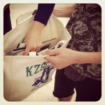 KZSC music tote bag