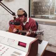 """Stelth Ulvang performing """"Springtime"""" in Studio B"""