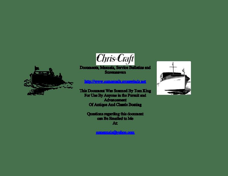 Borg Warner Velvet Drive Marine Installation