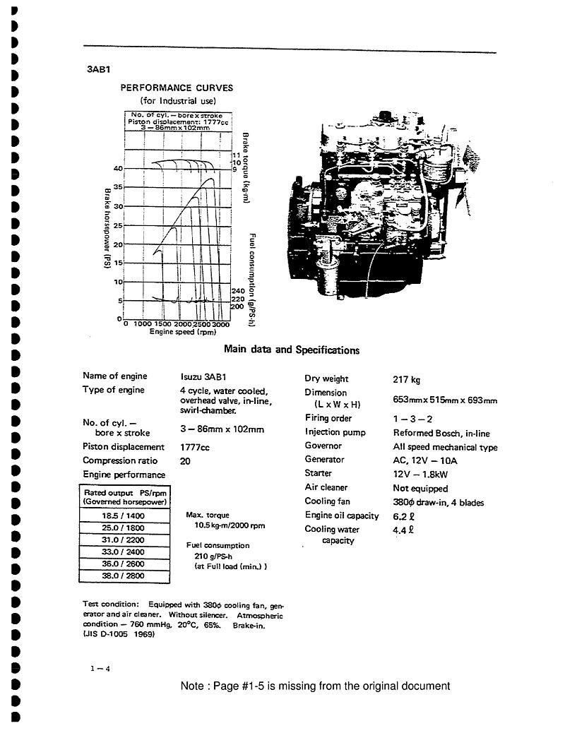 Isuzu 2aa1 to 3ab1 Workshop Manual