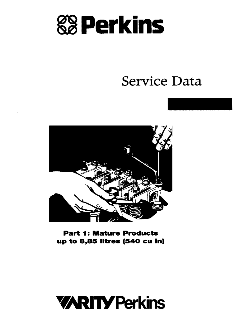 Perkins Service Data Book Part 1