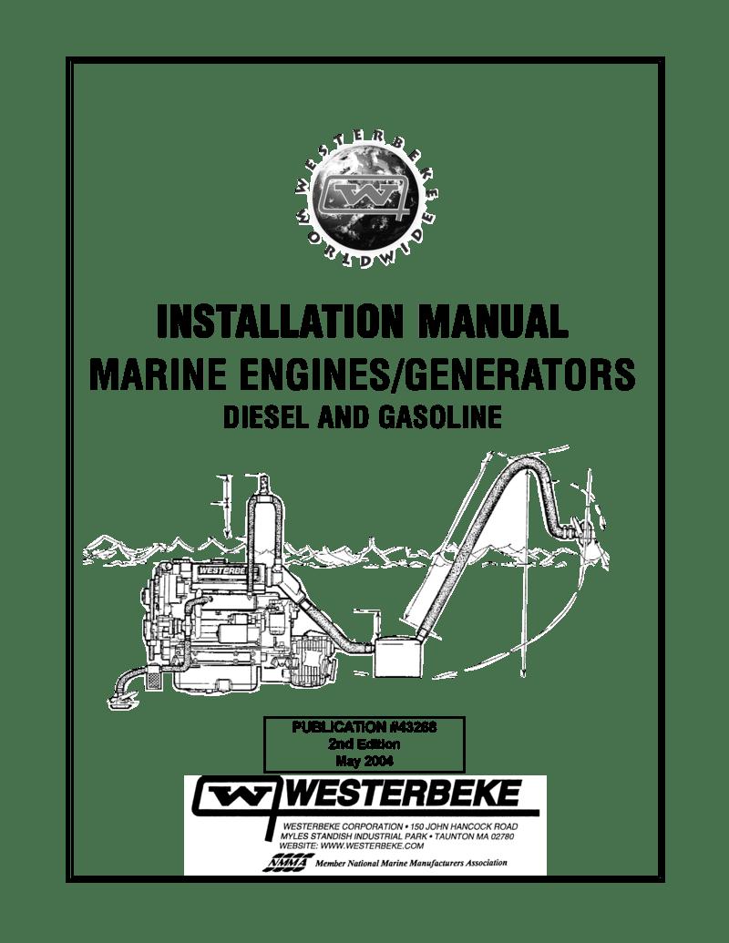 Westerbeke Marine Engine Installation Manual