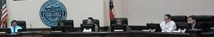 300x52 Commissioners, in Lowndes County Commission Work Session, by John S. Quarterman, 10 November 2014