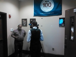 300x225 Colter Anstaett, WALB, interviews Cary Scarborough of DSS, in Solid Waste Special Called Meeting, by John S. Quarterman, 16 March 2015
