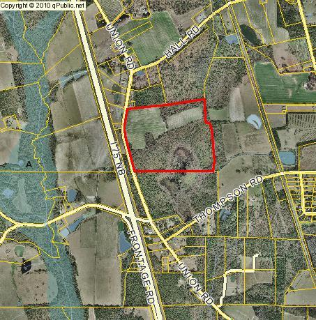 REZ-2016-05, 114 acre rezoning on Union Road