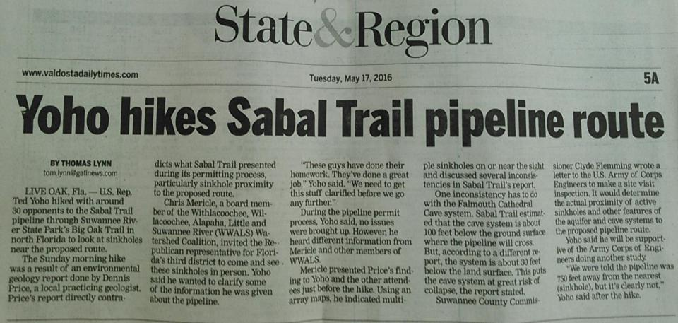 1545x735 Page 5A, in Yoho hikes Sabal Trail pipeline route, by Thomas Lynn, 17 May 2016