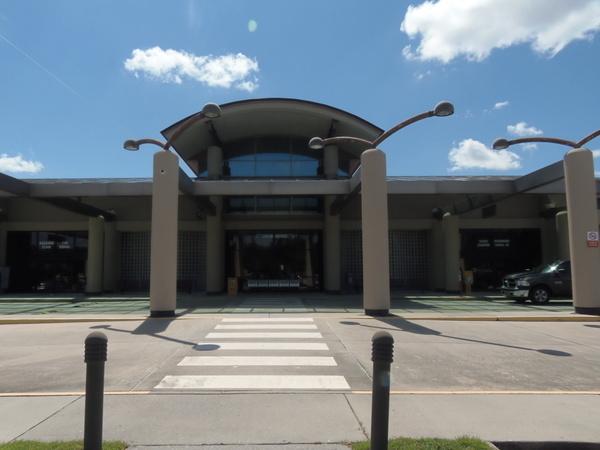 Terminal main entrance