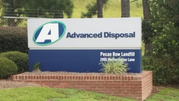 600x338 Advanced Disposal, Pecan Row Landfill, 2995 Wetherington Lane 30.8162757, -83.3598545, in Landfill Solar, by John S. Quarterman, 25 July 2017