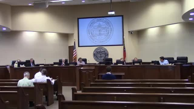 640x360 1. Call to Order 4. Minutes for Approval, Movies, in Regular Session, Lowndes County Commission, by John S. Quarterman, 22 January 2018
