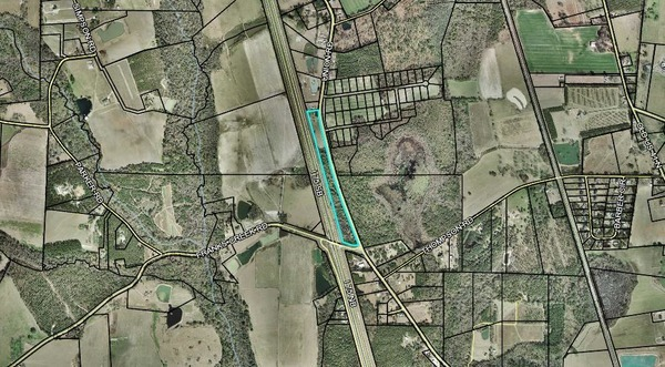 600x331 Parcel ID 0052 126, 6125 Union Road, Map, in Glpc, by John S. Quarterman, 29 May 2018