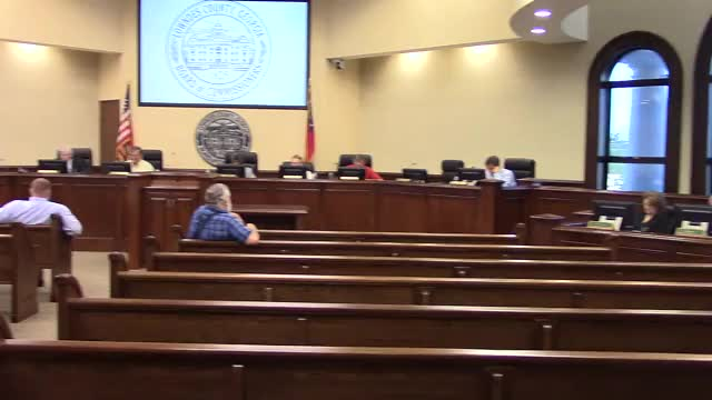 640x360 7. Reports â?? County Manager: two new agenda items about a Hahira annexation, Joe Pritchard, County Manager, in Work Session, Lowndes County Commission, GA, by John S. Quarterman, 13 August 2018