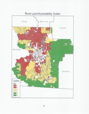 Tax Assessors: Rural Land Accessibility Codes