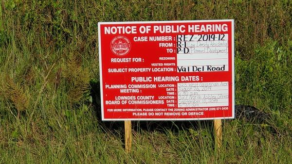 [Notice of Public Hearing]