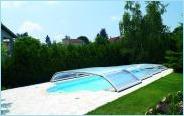 Abri bas de piscine Desjoyaux