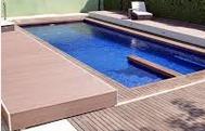 abri piscine plat terrasse