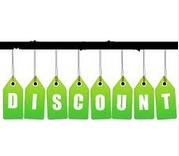 Étiquette Discount