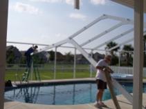 Fabriquer un abri piscine soi même