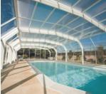 Abri piscine Quintessenz Rideau
