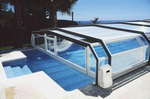Abri piscine motorisé