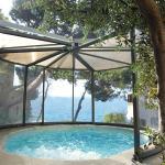 Abri spa Abrisud pour une piscine ronde